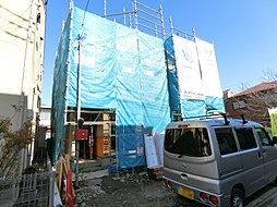 【東武伊勢崎線「竹ノ塚」歩21分】並列3第駐車可能な新築戸建て