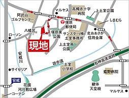【新築分譲】 クリエイト塚原4丁目 全11区画 :交通図