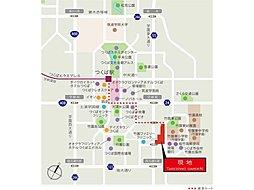 【パナホーム】竹園ガーデン(建売分譲):案内図