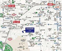 「グラファーレ小金井 MAP」