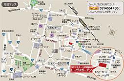 コモンステージ武蔵藤沢リーヴスガーデン(分譲宅地)【建築条件付土地】:案内図