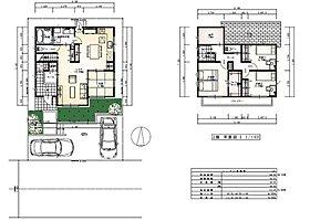 建物プラン例(NO.3)建物面積112.20m2