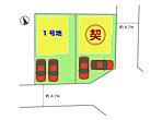 ■全2区画■ 1号地 敷地面積約36.32坪/2号地 敷地面積約36.25坪