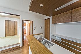 現地モデルハウス6号地「キッチン」