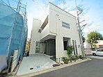 建築会社の建築例モデルハウス(外観)