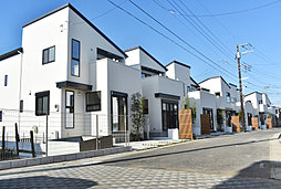 ポラスの分譲住宅 リーズン鎌ヶ谷 彩×白×美