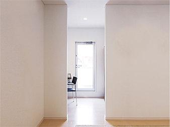 天井高2.5mの高さを確保することで、より開放的でゆったりとした広がりのある空間をつくりだします(画像はイメージ)。