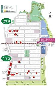 バードヒル池花 全体区画図