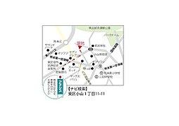 【写真更新中】静かで利便性のいい分譲地誕生:案内図