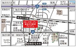 ストークガーデン東加古川プレミアム:案内図