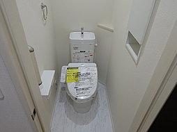 ウォシュレット付きのトイレです!!