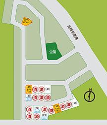 【三愛地所】  グリーンタウン栄町東 NO99モデル:案内図