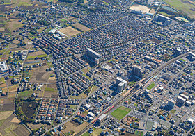美しい街並みを誇る白岡ニュータウン