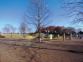 水の江公園 休日には家族でお散歩でも。
