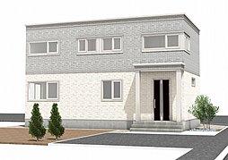 【セキスイハイム】ハイムタウン南町3分譲住宅2号棟の外観