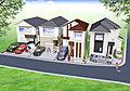 美貌感と風格漂う邸宅街区が広がるこの街に個性を重視した新築分譲住宅