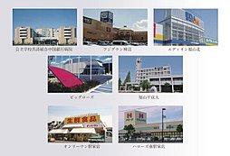 「ルーチェ・ヴェント万能倉」土地分譲付き注文住宅:案内図