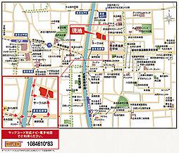 【大阪市内全52区画の街】ハーベストランド・ブロッサム平野:案内図