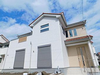 15号棟 外観 快適さと機能性を追求した新築住宅が完成しました!見て・触れて・体感して!リアルな生活のイメージをつかみませんか?