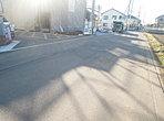 前面道路 北側5.2m道路に接道しています。 ※開発道路 201.73m2の内各1/7持分あり(1~7号棟) ※3・4・5号棟の地役権設定あり