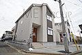 千葉市花見川区三角町 新築一戸建て 全3棟 1号棟  駐車スペース3台のお家