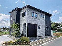 【アゲルホーム】ステージガーデン阿見町荒川本郷 開放的な吹き抜けがある家の外観