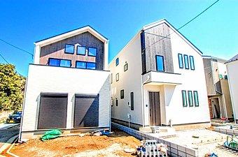閑静な住宅街に全4棟の新築分譲邸宅誕生。 建物は安心の10年保証付!!