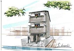 S&Gハウジングオリジナル建築 ハートフル天然木の家 羽束師菱川町の外観