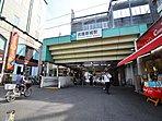 駅 1760m 武蔵新城