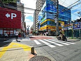 駅前商店街ポレポレ通りまで2600m
