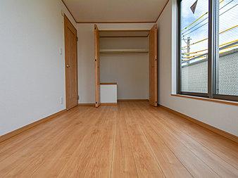全居室収納スペース付で広々住空間
