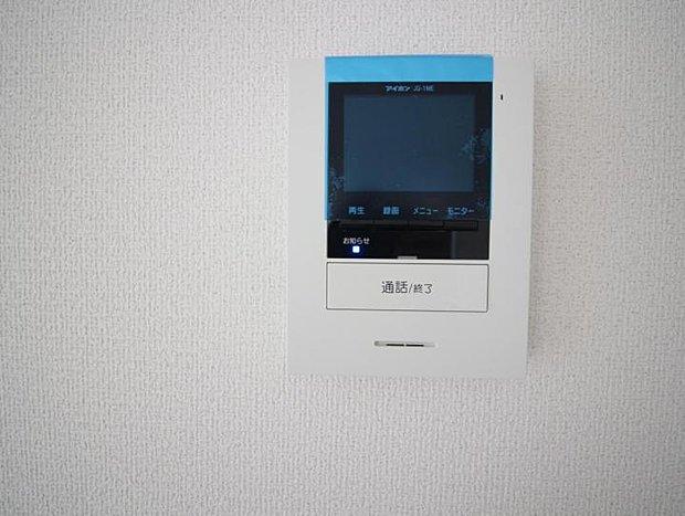 【設備】設備 TVモニターホンで防犯効果UP!