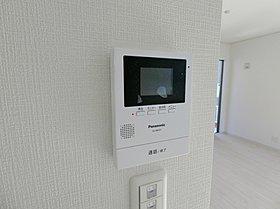 TVモニター付インターホンで防犯対策になります(施工例)