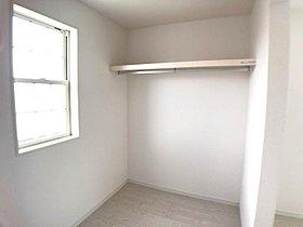 3号棟収納 2つの洋室にWICが付いていてお部屋もスッキリ!