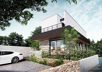 「現地案内会開催 完全予約制」アールギャラリー密柑山モデルハウス