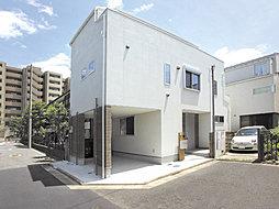 4M公道×4M公道に面する角地に誕生した開放的な都市型住宅