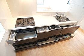 D号棟 環境にもママにの優しいビルトイン食器洗浄機付き!