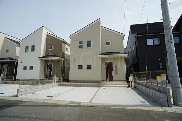 宮代町道佛3丁目 新築一戸建て 全8棟