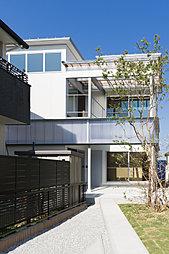 【下石田プロジェクト】内と外の家の外観