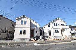 【ベルハウスの分譲住宅タフ・ソリッドシリーズ】収納豊富な敷地35坪超全2棟の外観