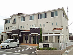 名鉄西尾線 西尾駅 バス13分 上矢田北下車 徒歩12分の賃貸アパート