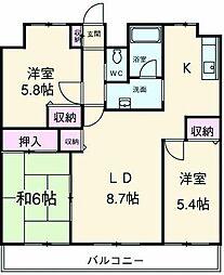 新狭山駅 8.7万円