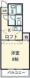 入曽駅 4.1万円
