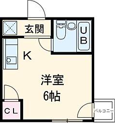 黒川駅 2.7万円