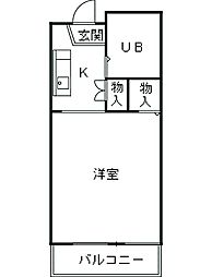 新松田駅 3.3万円