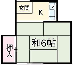 【敷金礼金0円!】飯村アパート