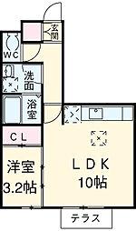 新清洲駅 5.4万円