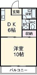 二川駅 3.7万円