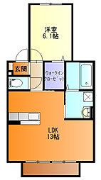 手力駅 5.3万円