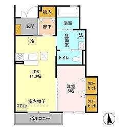 元加治駅 6.5万円